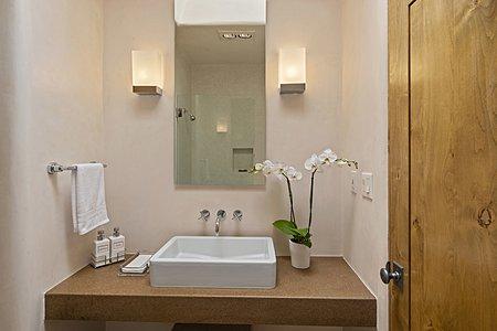 Ensuite bath in guest bedroom #1