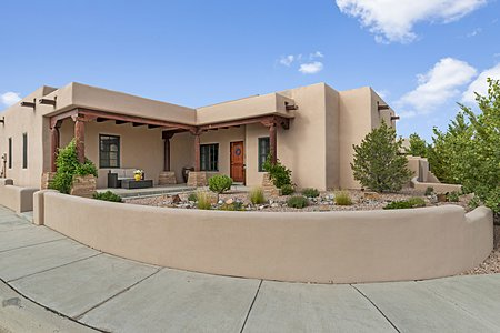 The Home is situated on a Spacious Corner Lot