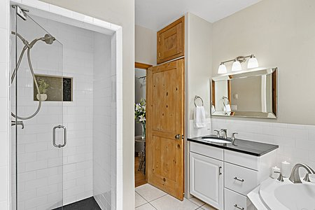 ...and Walk-in Shower