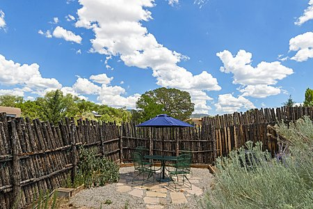 Fenced and Private Patio Area