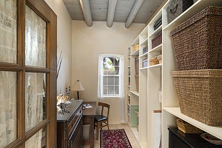 Deep Closet that Could Serve as an Office Space