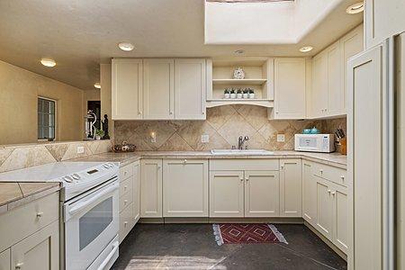 Sleek Kitchen with Plenty of Storage