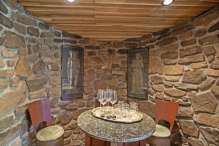 Interior of the Stone Wine Grotto