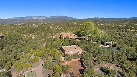 CASITA – aerial view of property casita in foreground