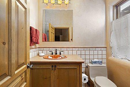 Gate house guest bathroom