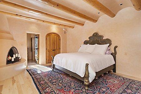 Master bedroom gate house