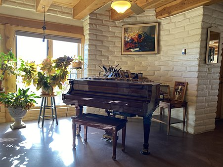 Piano Room or 2nd Dining Room