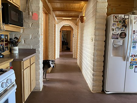 Hallway to Bedrooms (dog not included)