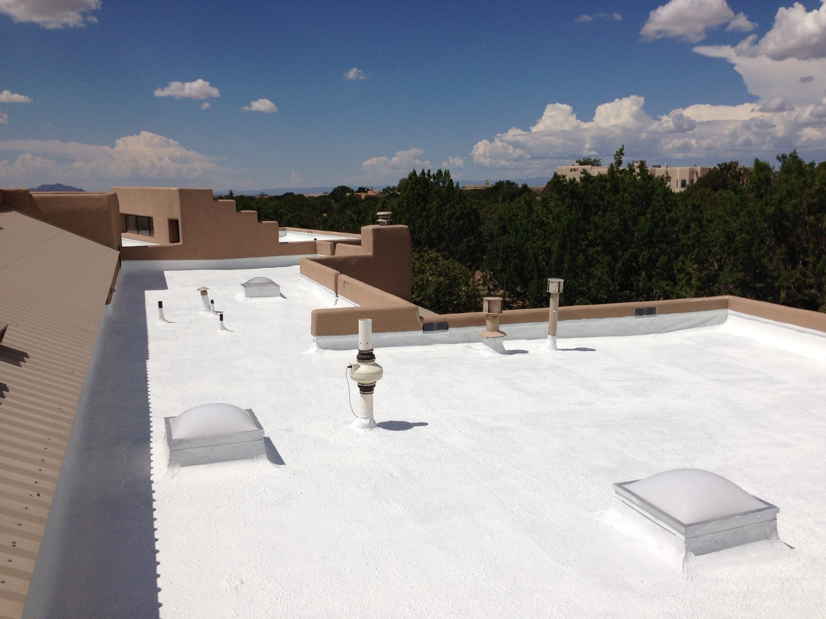 why are silicone roofs better for new mexico santa fe real
